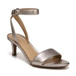 Naturalizer Tinda Gold Dress Sandals Women's Shoes